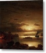 The Smugglers Harbor Metal Print