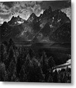 The Snake River Metal Print