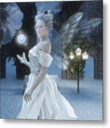 The Snow Fairy Metal Print by Melissa Krauss