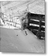 The Snow Gate  Metal Print