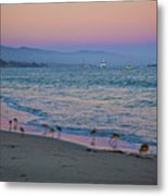 The Soft Side Of Sunset Metal Print