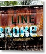 The Soo Broke Line Metal Print
