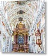 Lucerne's Jesuit Church  Metal Print
