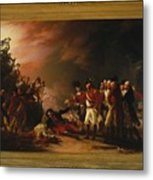The Sortie Made By The Garrison Of Gibraltar Metal Print