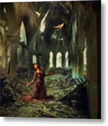 The Soul Cries Out Metal Print