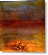 The Soul Dances Like A Tree In The Wind Metal Print