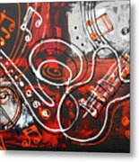 The Sound Of Music Metal Print