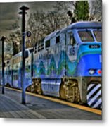 The Sounder Metal Print