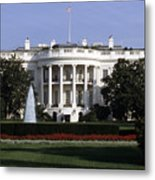 The South Side Of The White House Metal Print