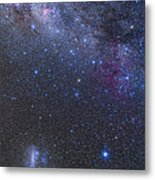 The Southern Sky And Milky Way Metal Print