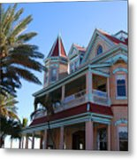 The Southernmost House In Key West Metal Print