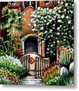 The Spanish Gardens Metal Print