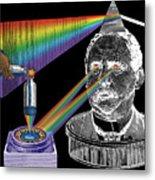 The Spectre Of Chromatopia Metal Print by Eric Edelman