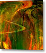 The Spirit Glows Metal Print