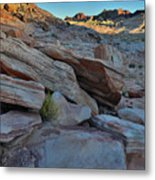 The Spotlight Fades At Valley Of Fire Metal Print