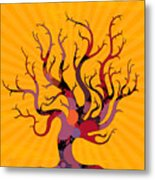 The Spotted Tree Metal Print