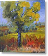 The Spring Tree Metal Print