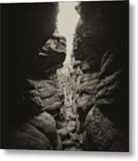 The Squeeze Metal Print