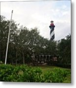 The St. Augustine Light Station Metal Print