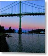 The St Johns Bridge Metal Print