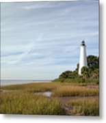 The St Marks Lighthouse Metal Print