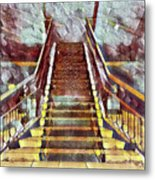 The Stair Metal Print
