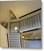 The Stairs To Museum Metal Print