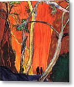 The Standley Chasm Metal Print