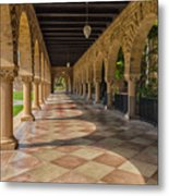 The Stanford Entrance Metal Print