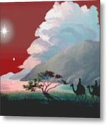 The Star Of Bethlehem Metal Print