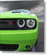 The Stare - Challenger Rt Metal Print