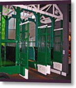The Starting Gate Display In The Kentucky Derby Museum Metal Print