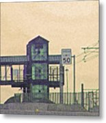 The Station Metal Print