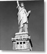 The Statue Of Liberty  Photo Metal Print