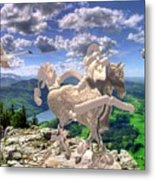 The Statue Of The Rock Metal Print
