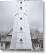 The Steel Tower Metal Print