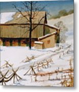 The Stein Barn Metal Print