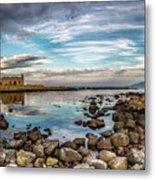 The Stilled Harbour... Metal Print