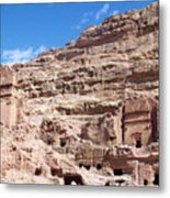 The Stone City Metal Print
