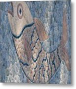 The Stone Fish Metal Print