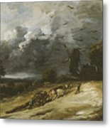 The Storm Metal Print