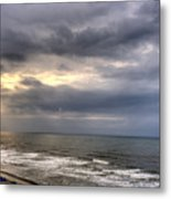 The Storm Is Over Metal Print