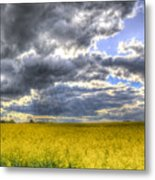 The Storms Approach  Metal Print