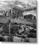 The Stormy Superstitions Metal Print