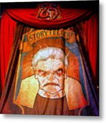 The Storyteller Hhn 25 Metal Print