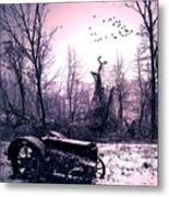 The Straggler...thurston Hollow Pa. Metal Print