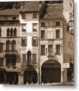 The Streets Of Vittorio Veneto Metal Print