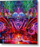 The String Cheese Incident-hulaween Metal Print