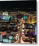 The Strip At Las Vegas,nevada Metal Print
