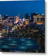 The Strip Las Vegas Metal Print